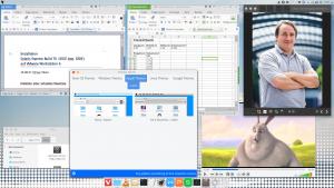 Feren OS - MacOSX-Theme
