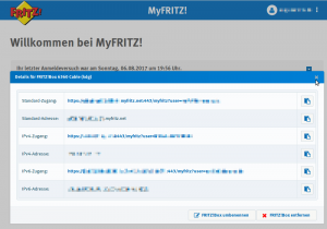 myfritz addresses