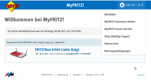 myfritz devices