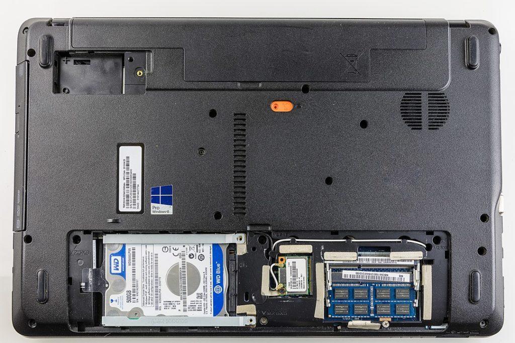 Acer TravelMate mit 2,5'' SATA HDD