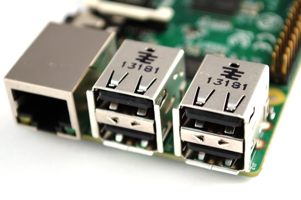 Raspberry Pi B+ - USB Ports