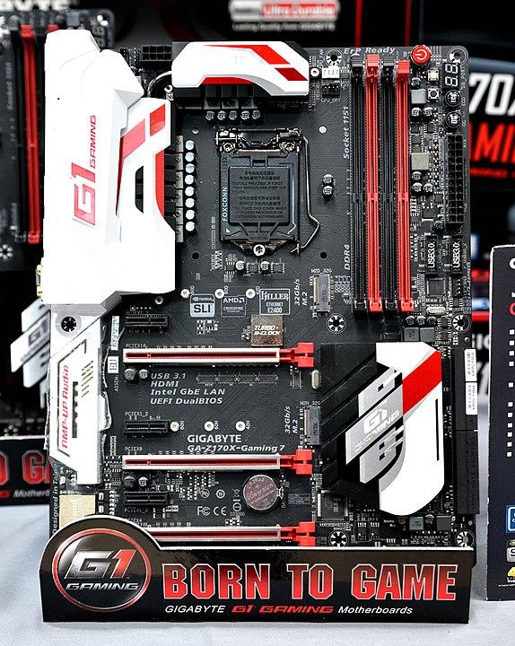 Gigabyte GA-B150M-D3H mit PCIe-Slots