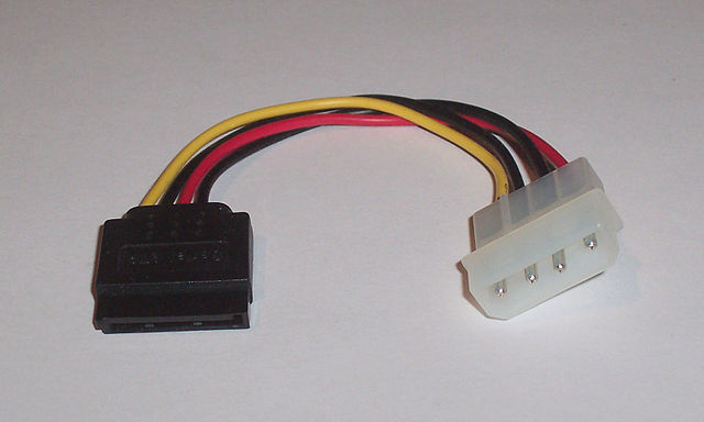 SATA-power to Molex