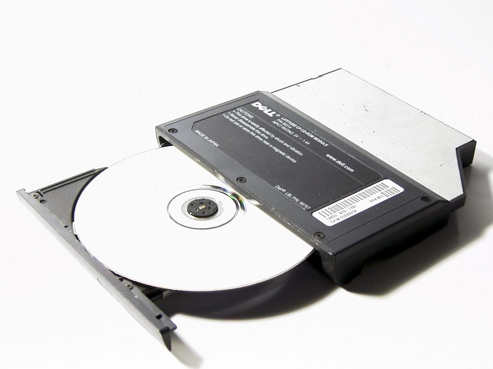 CD-ROM für Notebook
