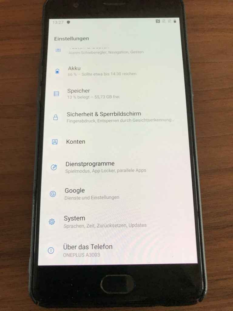 OxygenOS 9 / Android 9