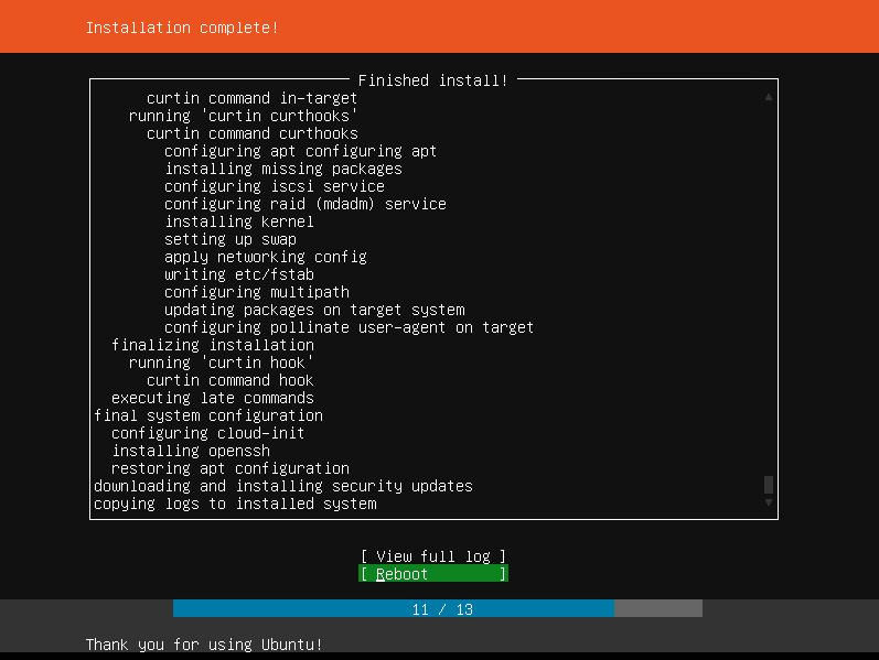 Ubuntu Server Installation
